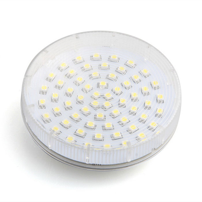 qook gx53 60 led 3528 smd 3w plafond blanc chaud vers le bas ampoule envoie gratuit dealextreme. Black Bedroom Furniture Sets. Home Design Ideas