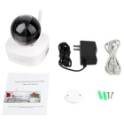 VESKYS 960P 1.3MP Wi-Fi Security IP Camera - White + Black (US Plugs)