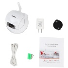 VESKYS 720P 1.0MP Wi-Fi Security IP Camera - White + Black (US Plug)