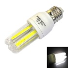 Ultra-bright E27 7W 6000K 560lm 3U 4-COB Energy-Saving Lamp Cool White