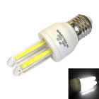 Ultra-bright E27 3W 6000K 240lm 2U COB Energy-Saving Lamp Cool White
