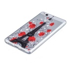Tower Pattern TPU Protective Case for HUAWEI P9 Lite - Transparent
