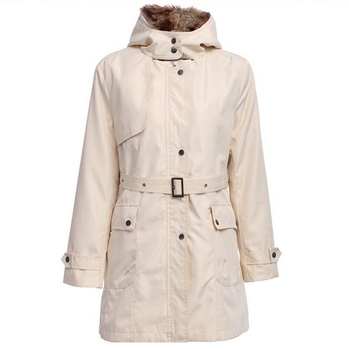 Five Generations Women's Acrylic + Polyester Fiber Warm Slim Coat