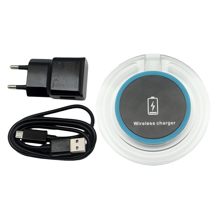 5V / 9V Qi Quick 2.0 Wireless Charger for Mobile Phones - Black