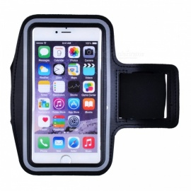 Running Sports Armband Case w/ Key Holder for IPHONE 7 Plus - Black