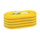 4M 3 Tons Super Auto Car Tow Rope Cable Towing Strap w/ Hooks - Yellow