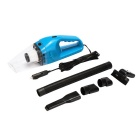 A1XCQ5 Portable Wet and Dry Vacuum Cleaner for Car - Blue (DC 12V)
