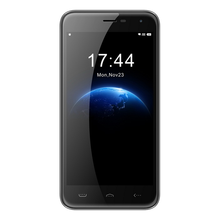 "HOMTOM HT3 5"" IPS HD quad-core android 5,1 3G smartphone - svart"