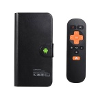 CS668 Android 6.0 Bluetooth Speaker Charging Treasure TV Box - Black