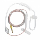 Cwxuan Sound Conduction Acoustic Air Tube Earphone w/ Mic. - White