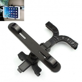 ZIQIAO Universal Car Seat Mount Holder Bracket for Tablet PC - Black