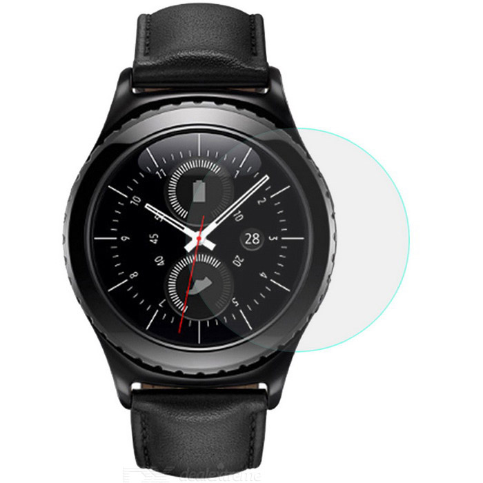Protective Tempered Glass Screen Protector for Samsung Gear S2 Watch