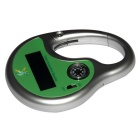 Solar Powered Sonic Mosquito Insect Repeller with Compass - Green
