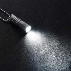 wuben ZT Portable Mini USB Light Lamp LED Flashlight - Space Silver