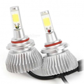 Joyshine H4 HB2 9003 LED Headlight Bulbs 60W 6000lm 6000K Bright White