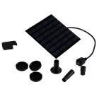 P02 1.2W Solar Water Pump Kit for Birdbath Fountain Pool / Garden