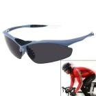 Unisex Outdoor Half-frame Explosion-proof Sunglasses - Black + Grey
