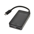 Tutuo USB 3.0 Hub TF / SD Card Reader Type-C PD Combo Charger