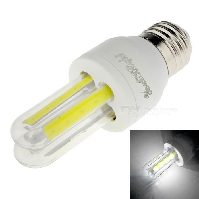 YouOKLight E27 3W 4-COB LED Cold White Light Corn Lamp (AC 85-265V)