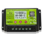 12V / 24V 10A Solar Charge Controller CMTD-G with LCD Display