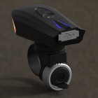 SKY RAY USB Charging 4-Mode Smart Bicycle Bike Front Light - Black