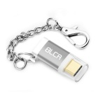 BLCR USB 3.1 Type C Male to Micro USB Female Adapter - Silvery Grey