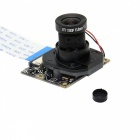 Geekworm Camera with IR-CUT Function for Raspberry Pi - Black