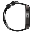 "Fashion Android 5.1 Multi-function Quad-Core 1.39"" Smart Watch - Black"
