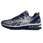 Fluorescent Flat Casual Running Shoes for Men - Deep Blue (Size 43)