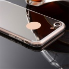 "TPU + PC Mirror Back Case Cover for IPHONE 7 4.7"" - Translucent Black"