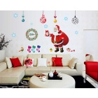 Removable DIY 3D Santa Decorative Wall Sticker