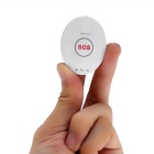 Mini GPS Tracker Locator w/ Google Map / SOS Alarm for Car - White