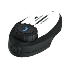 Cámara Bluetooth Grabador de vídeo BT Interphone - Blanco + Negro
