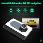 "Junsun A200S 7"" Car Rear View GPS Navigation Android 4.4 w/ DVR Camera"