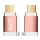 BLCR USB 3.1 Type C Male to Micro USB Female Adapter - Rose Red