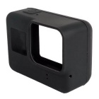 Protective Silicone Case + Lens Cap Cover for GoPro Hero 5 - Black