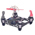 QX80 Inomhus Crossing Drone 4 Axis Quadcopter w / Kamera Set - Svart