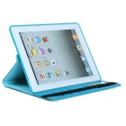 360° Rotating Detachable TPU Twill Soft Case Skin Cover for IPAD 2/3/4