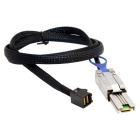 CY SF-078-1.0M External Mini SAS SFF-8088 to Mini SAS Cable (100cm)