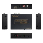 wiistar WS-E11AK ​​оптический SPDIF 4K * 2K HDMI к HDMI Audio Extractor