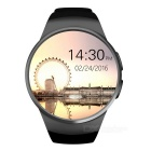 KW18 Latest Fashion Unisex Multi-function Smart Watch - Black