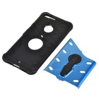 Protective TPU + PC Back Case w/ Holder Stand for Google Pixel