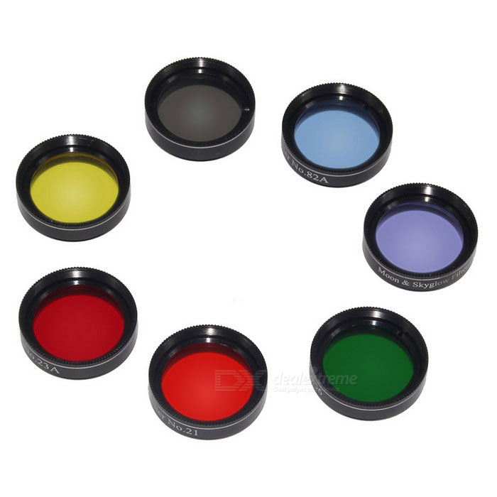 Filter Set Colored Planetary & Moon Filters Kit Accessories