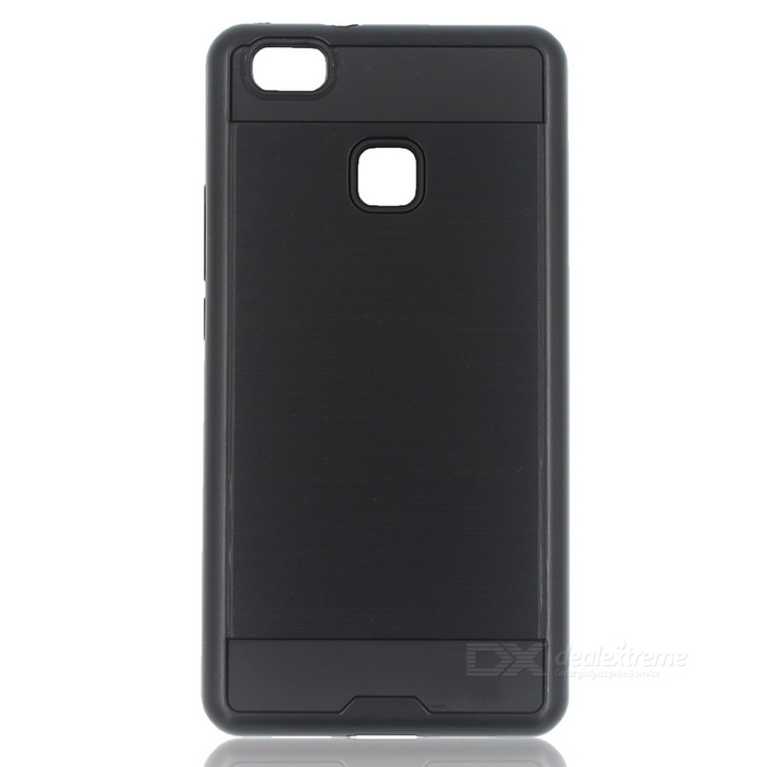 Protective PC + TPU Back Case for Huawei P9 Lite - BlackPlastic Cases<br>Form ColorBlackModel-MaterialPC + TPUQuantity1 DX.PCM.Model.AttributeModel.UnitShade Of ColorBlackCompatible ModelsHuawei P9 LiteFeaturesDust-proof,Shock-proof,Abrasion resistance,Easy-to-removePacking List1 * Back case<br>