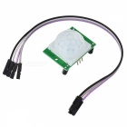 Human Body Infrared Sensor Detector Module with 3-pin Cable for Arduino