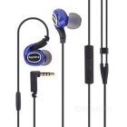 Universal 3.5mm Plug In-Ear Wired Sport Earphone w/ Microphone, Volume Control