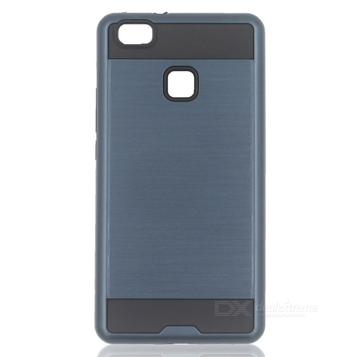 Protective PC + TPU Back Case for Huawei P9 Lite - Navy Blue