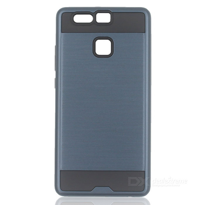 Protective PC + TPU Back Case for Huawei P9 - Navy Blue