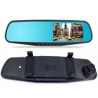 M068 4.3'' Blue Screen Rearview Mirror Vehicle Traveling Data Recorder