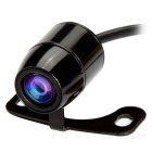 CCD Reverse Backup Car Rear Front View Camera - Black